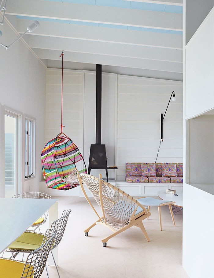 Articles about spend summer hanging around these modern swing chairs on Dwell.com