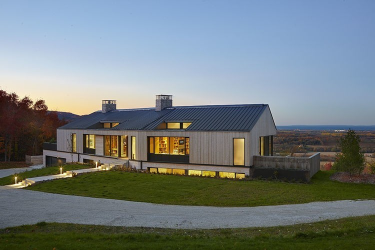 Articles about family builds their dream modern home overlooking georgian bay on Dwell.com - Dwell