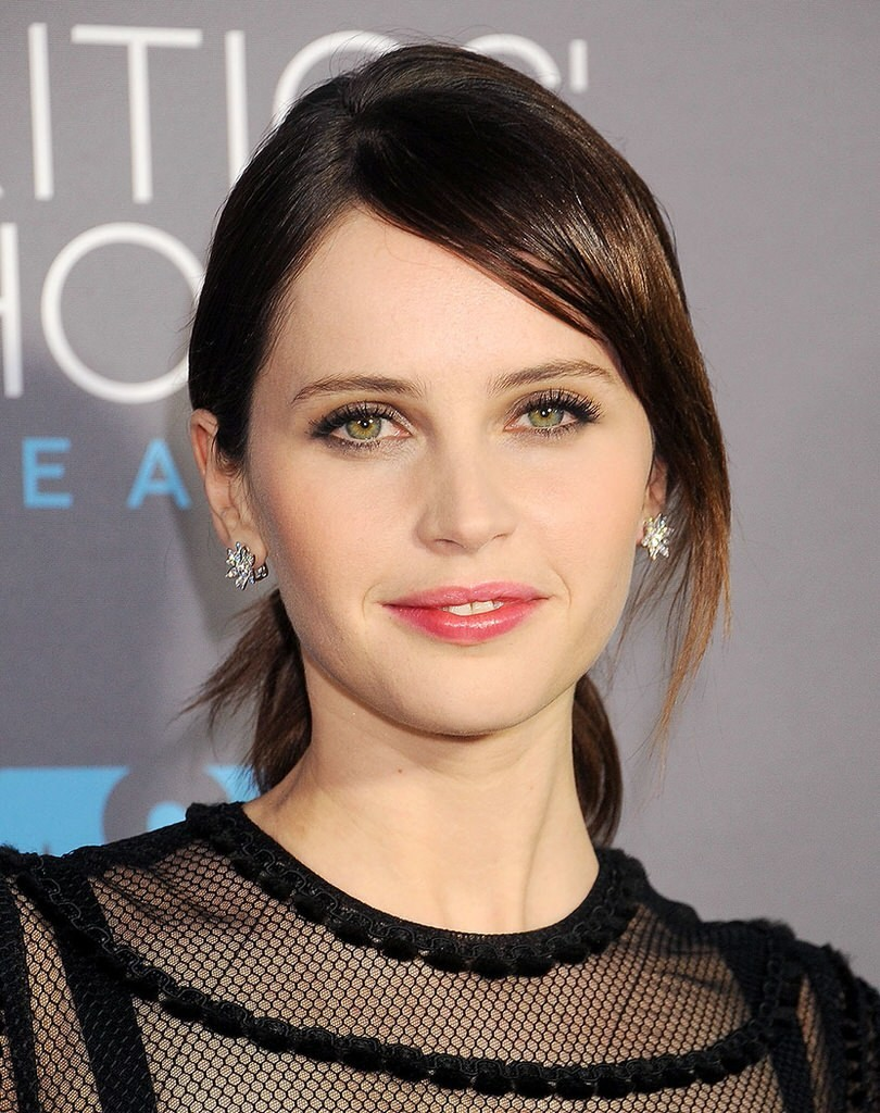 "Felicity Jones and her acting in ""The Theory of Everything"" is un-explainable. She is beautiful, she is innocent, she is deep and ofcourse, she got the perfect lips."
