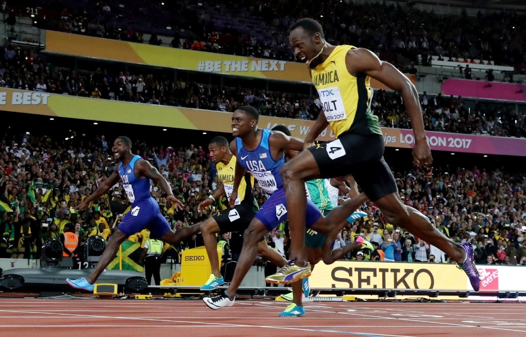 Usain Bolt Upset in Final 100m at World Championships: Pictures