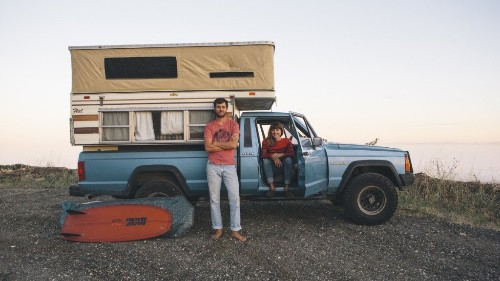 Campervans, Trucks, Bikes, and the Faces of the California Roads