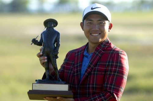 Pan claims first tour win by one stroke over Kuchar