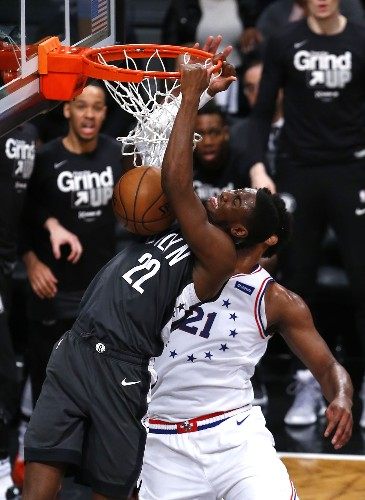 76ers rally past Nets in feisty contest