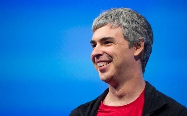 Larry Page explains Google's transformation to Alphabet