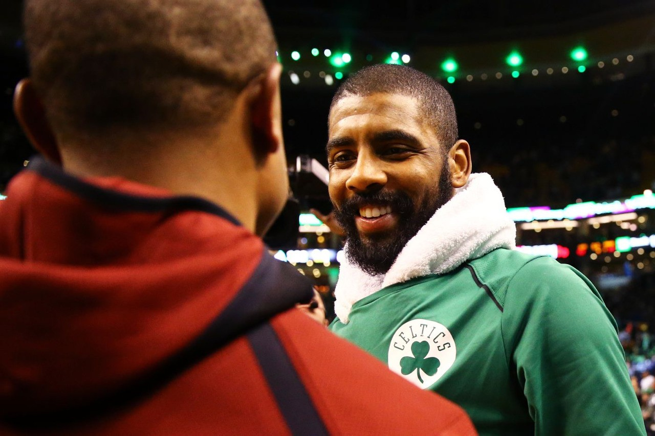 IT and Kyrie post game