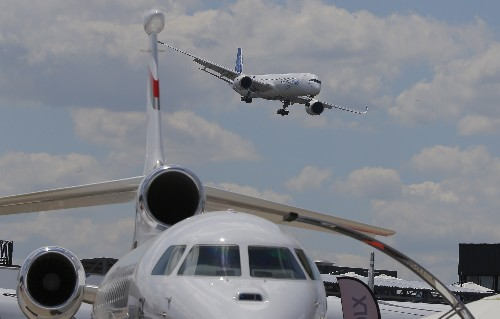 The Latest: Airbus is ready for autonomous planes; are you?