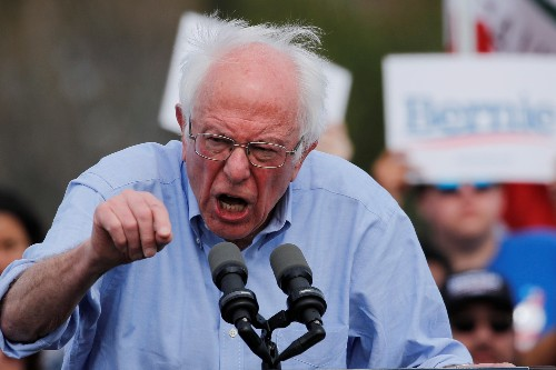 U.S. officials tell Democrat Sanders Russia is trying to help his campaign: Washington Post