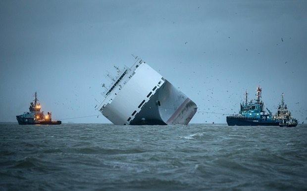 Divers to inspect Hoegh Osaka cargo ship