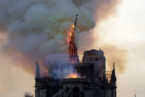 Fire Ravages Notre Dame Cathedral: Pictures
