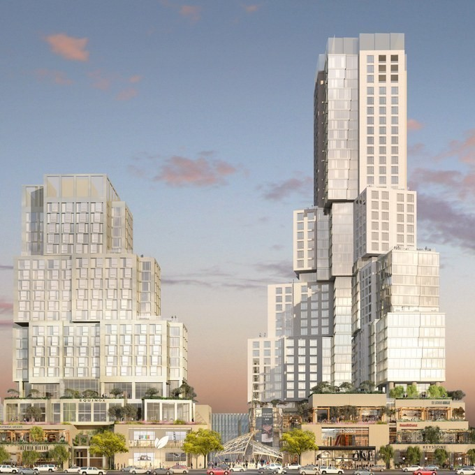 Frank Gehry Offers New Round of Revisions to Downtown L.A. Tower Project