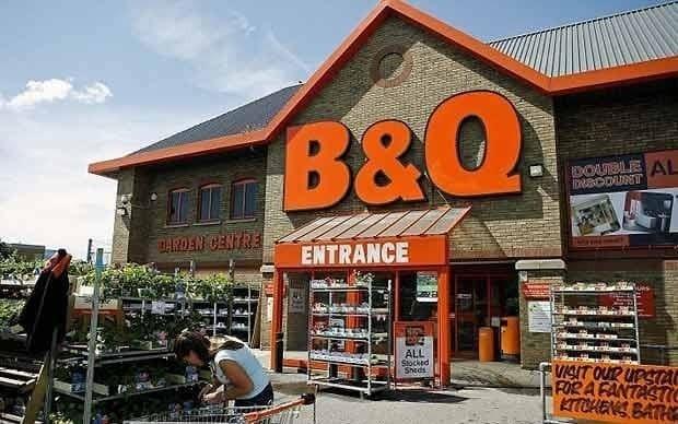B&Q to close 60 stores