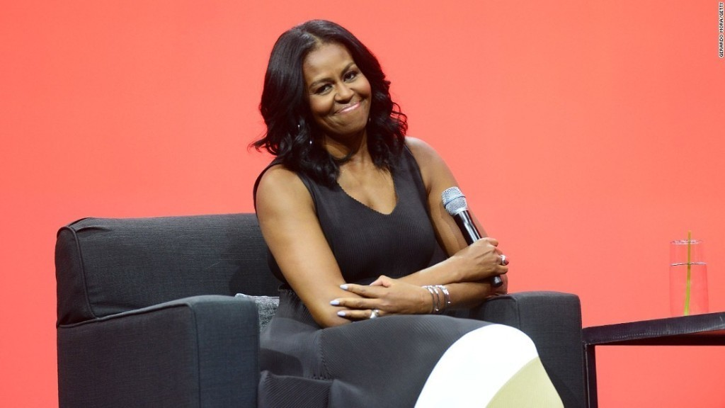 First on CNN: Trump administration ending Michelle Obama's girls education program