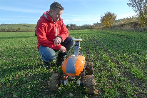 Robots in the field: farms embracing autonomous technology