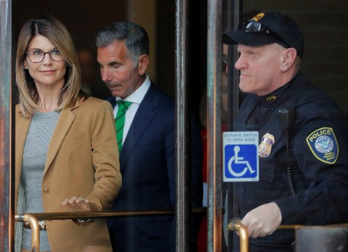 Actress Lori Loughlin pleads not guilty in college admissions case