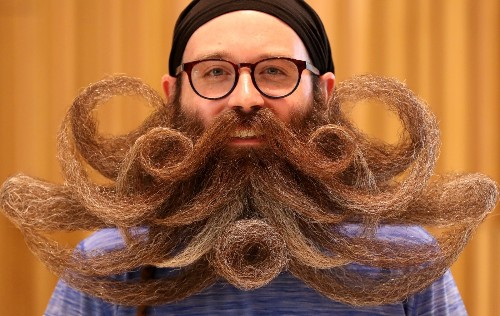 World Beard and Mustache Championships: Pictures