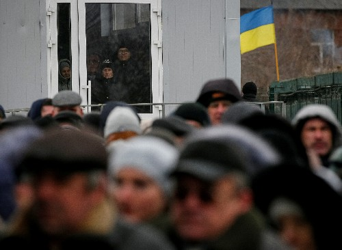 Russia offers passports to east Ukraine, president-elect decries 'aggressor state'