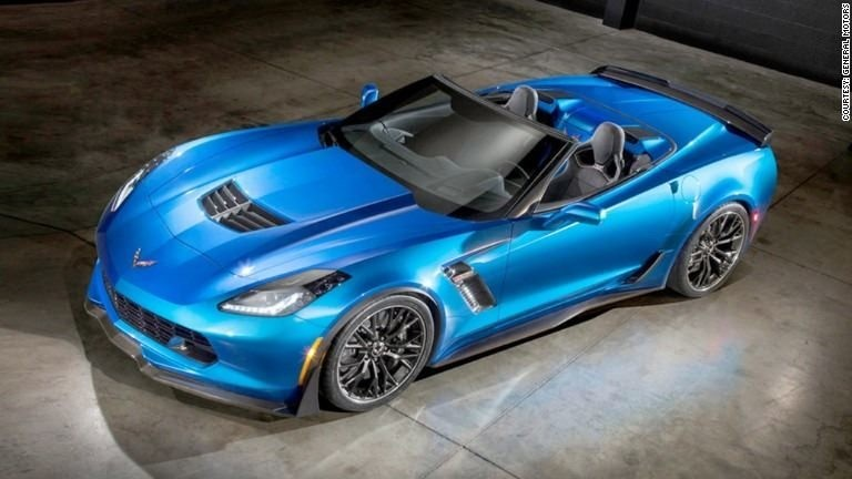 GM reveals most powerful drop-top Corvette