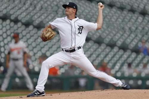 Tigers' Alexander beats O's for 1st big-league win