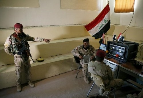 Iraq says it retakes western town of Rutba from Islamic State