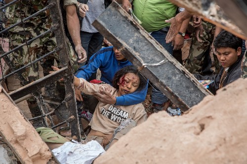 Major Earthquake Devastates Nepal: Pictures