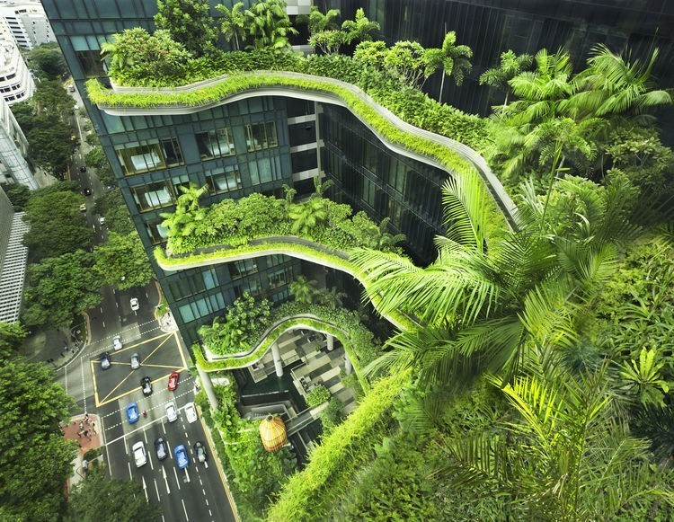 Articles about architecture firm working bring nature skyscraper on Dwell.com - Dwell