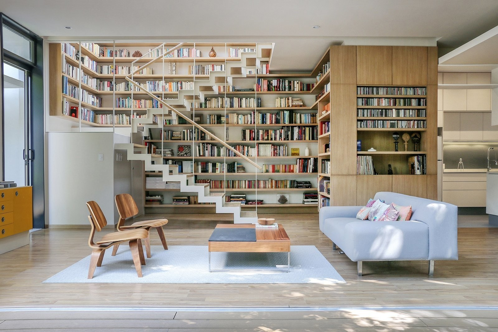 Retired Couple Build Modern in Mexico City