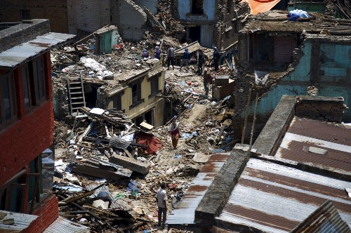 Nepal Struck by Quake Again: Pictures