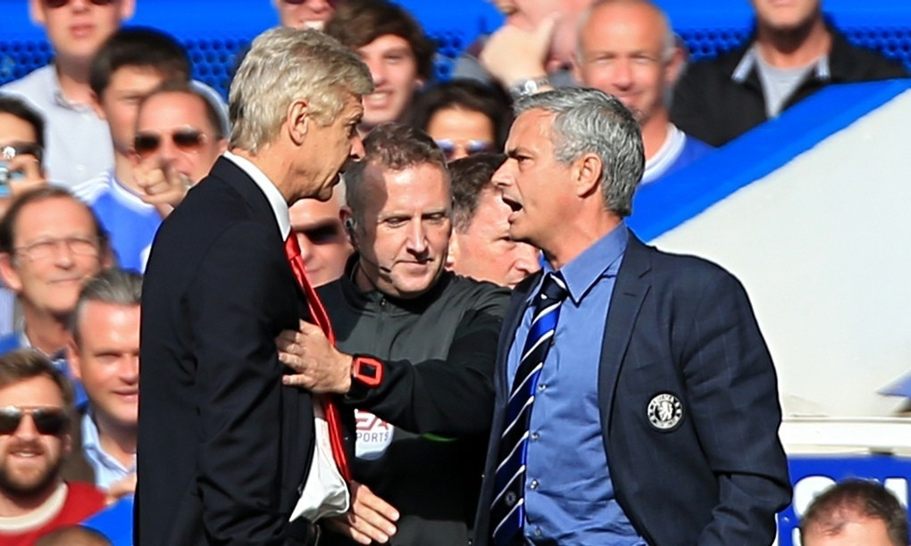 José Mourinho: I will shake hands with Arsène Wenger before kick-off