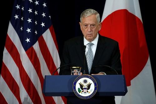 Pentagon's Mattis again seeks to reassure U.S. allies