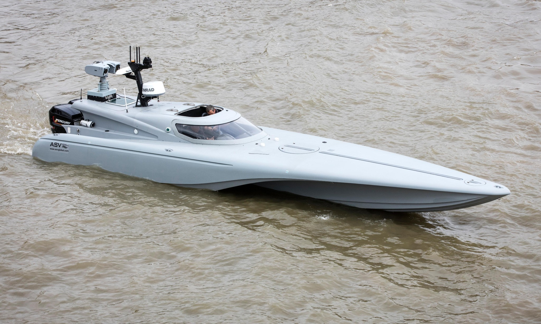Royal Navy tests unmanned speedboat ahead of drone exercises