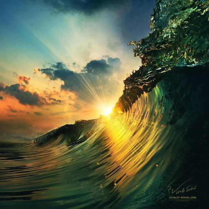 May u all rise up roaring like these waves