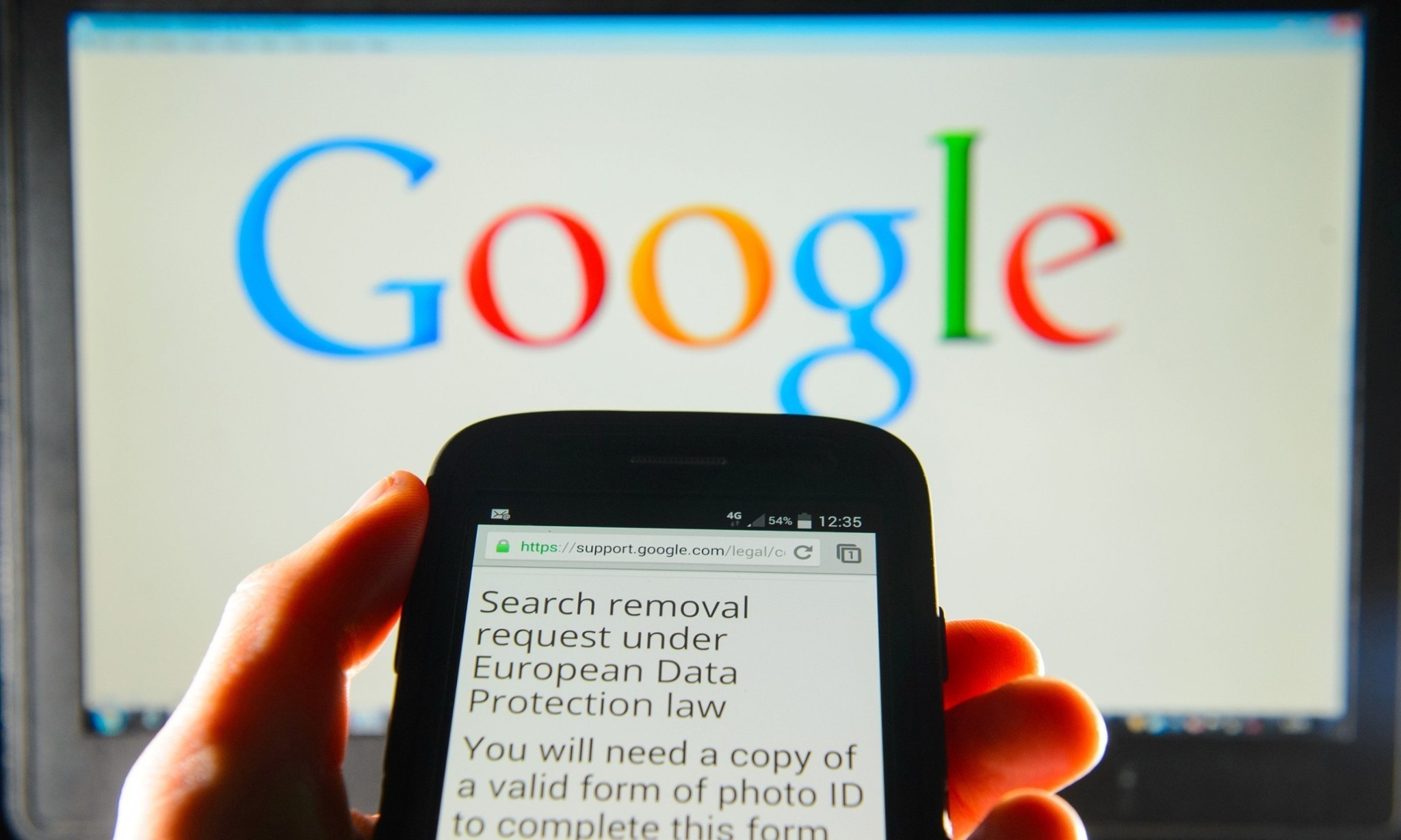 Google hauled in by Europe over 'right to be forgotten' reaction