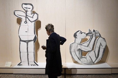 Picasso Show Opens in Milan: Pictures