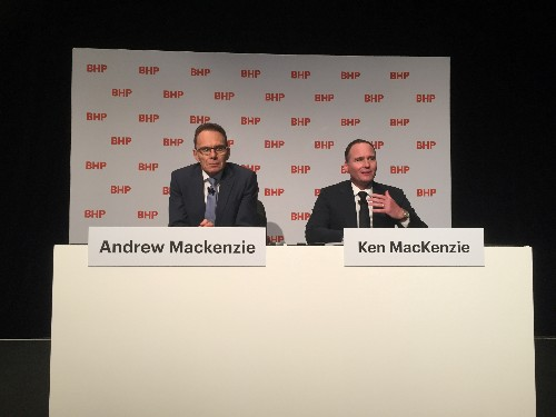 BHP CEO staying around to deal with tailings and transformation