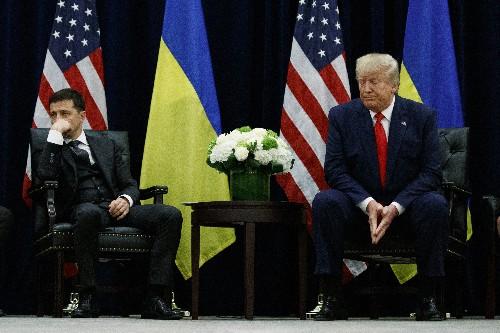 Entangled in US scandal, Ukraine's president speaks at UN