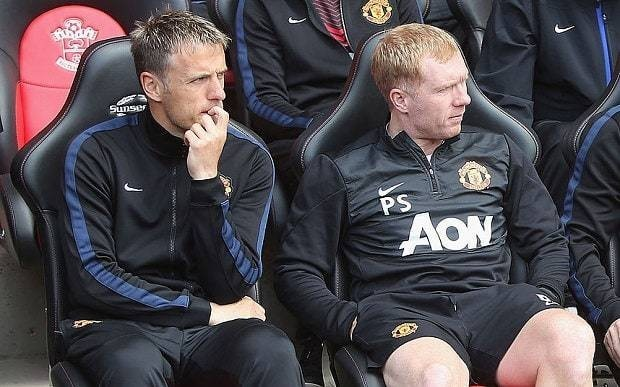 Paul Scholes and Phil Neville take charge of Salford City