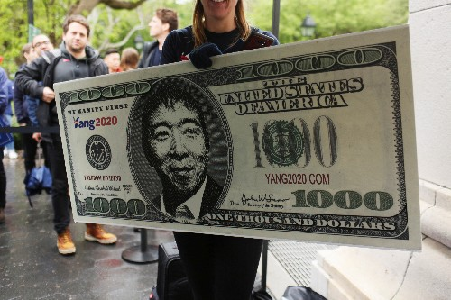 Democrat Andrew Yang wants to be president - and give you $1,000 a month
