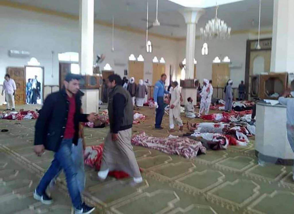 Militants kill 235 at Sinai mosque in deadliest assault on civilians in Egypt