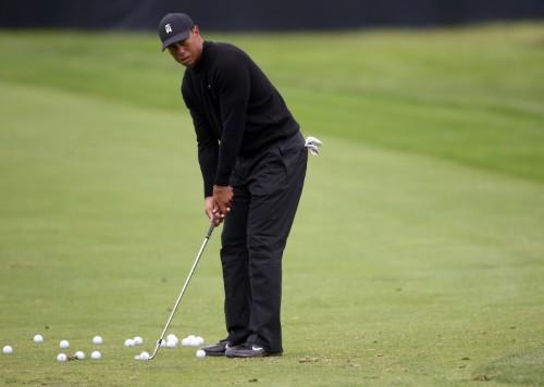 Golf: No Tiger sighting at sunny Bethpage Black on Wednesday