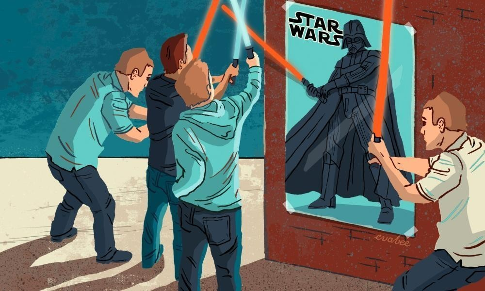 The superfan strikes back. Star Wars shows us where the creative force lies