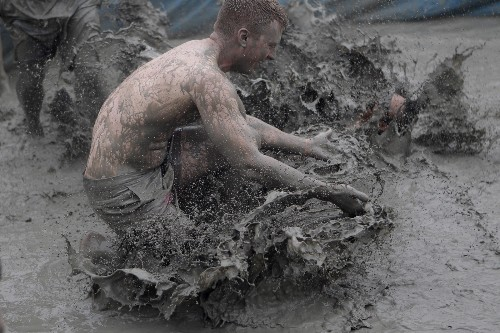 Annual Boryeong Mud Festival in South Korea