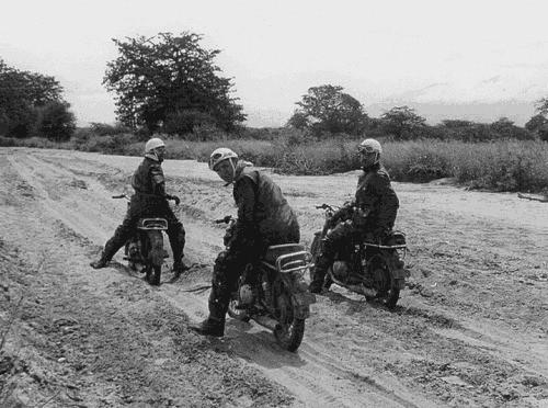 Operación Impala: Camino de arena.