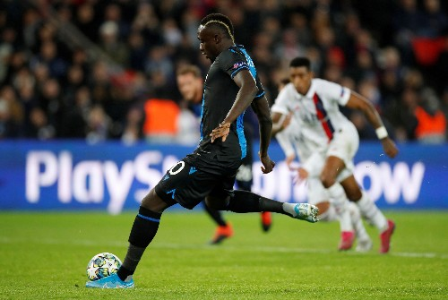 Brugge striker Diagne dropped and fined for missing penalty