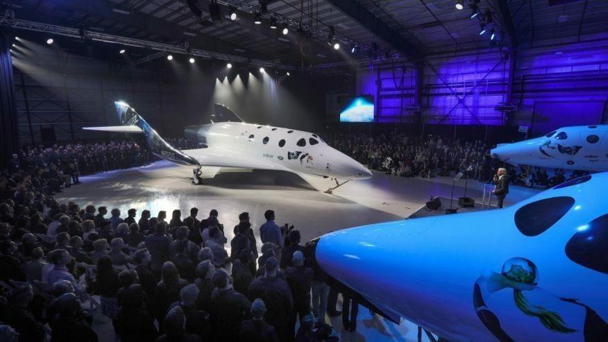 Virgin Galactic unveils new SpaceShipTwo spaceplane