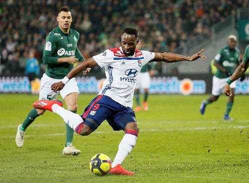 Soccer: Last-gasp Dembele earns Lyon 2-1 win at St Etienne