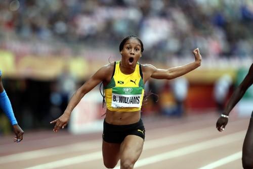 Jamaica name Williams in Doha team despite positive dope test