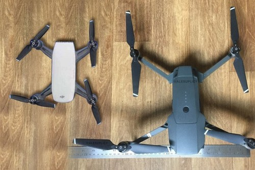 DJI's newest drone looks to be even smaller than the Mavic Pro