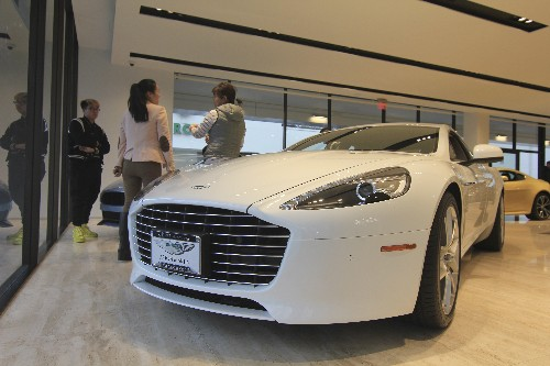 Auto-Absatz in China geht weiter zurück - auch E-Autos schwächeln