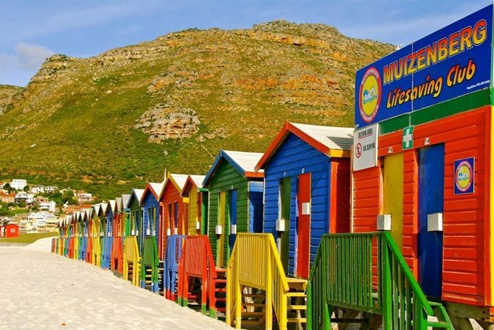 Muizenberg Beach Cottages: Capetown South Africa