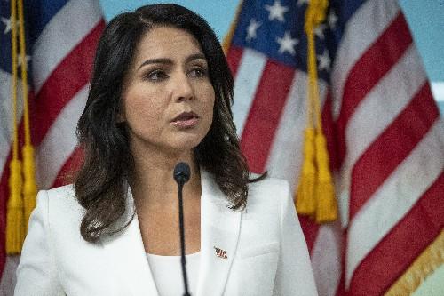 3rd-party bid? Gabbard's denials don't ease Democrats' fears